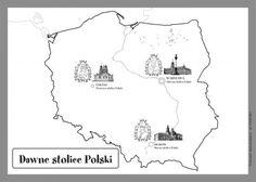 Darmowe materiały do pobrania i wydruku - EUROtest Montessori Materials, Diagram, Teaching, Education, School, World, Poland, Color, Maps