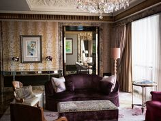 BWorldly Presidential Suite at St Regis Singapore Singapore Hotel Rooms, Madding Crowd, Hotels And Resorts, Travel Style, Interior, Pictures, Furniture, Places, Home Decor