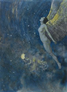 Edmund Dulac. - Sotheby's #ravenectar #visionaryart #art #trippy #psychedelic #sacred