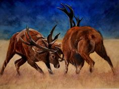 """The Rut"" by Graham Ibson"