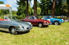 #Citroën #DS #Spéciales à #Chantilly Arts et Elégance. Reportage complet : http://newsdanciennes.com/2015/09/07/grand-format-chantilly-arts-et-elegance/ #Classic_Cars #Vintage #Cars #Voiture #Ancienne