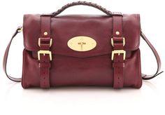 Burgundy Alexa Bag ♥ Mulberry Shoulder Bag 578744125f30d