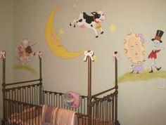 Mother Goose Full Wall Mural