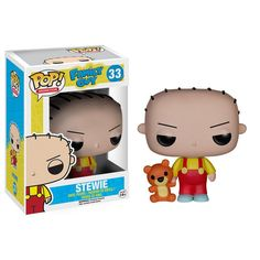 This is the Stewie Griffin POP Vinyl figure that is made by the good folks over at Funko. The animated television show Family Guy is a classic at this point and it's great to see the Family Guy charac