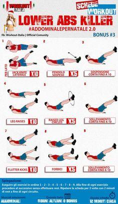 Video esercizi addominale in 8 minuti. Tonificare i tuoi addominali e smaltire il grasso addominale puoi con addominalepernatale. Scopri i migliori esercizi