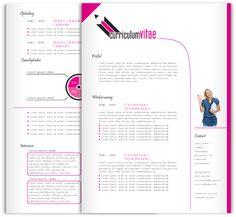 CV design 205. Gebruik dit CV ontwerp om je eigen CV te laten pimpen. www.mooicv.nl