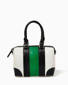 charming charlie | Maizie Mini Bowler Bag | UPC: 410006773707 #charmingcharlie