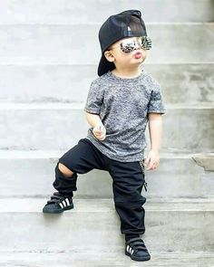 Little man has dope style.