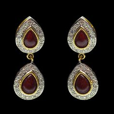 Polki Earrings, Earring, Bridal Earrings | $44.58