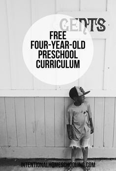 Free Weekly Curriculum for Four-Year-Olds - simple and effective curriculum for you to follow with your preschooler.