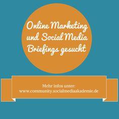 Wir sind immer auf der Suche nach Social Media und/oder Online Marketing Briefings von Unternehmen, die unsere Teilnehmer im Laufe ihrer Lehrgänge bearbeiten und zu einem Konzept ausarbeiten können. #socialmedia #onlinemarketing
