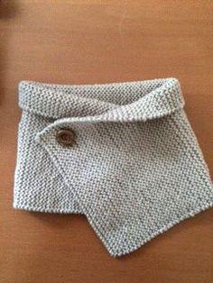 d9d7adaa938 Tuto DMC Tour de cou tricoté pour bébé avec la laine 100% Baby