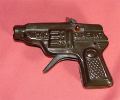 1930's Giant Automatic TOY Cap PISTOL by GypsySeller on Etsy
