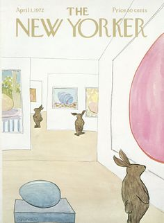 The New Yorker - Saturday, April 1, 1972 - Issue # 2459 - Vol. 48 - N° 6 - Cover by : James Stevenson