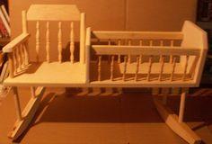 Rocking Chair Cradle by jerryztoyz on Etsy, $60.00