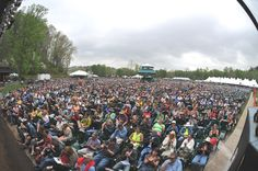 MerleFest Crowd... At Wilkes Community Collge
