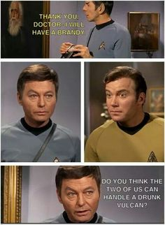 Oh my. Kirk's face
