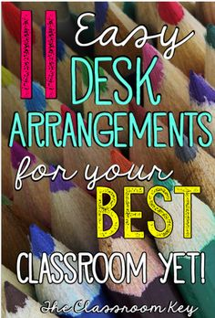 11 Desk Arrangements