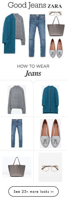 """zara skinny jeans"" by diana-kulieva on Polyvore featuring Zara"