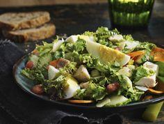 Salade du chef étagée