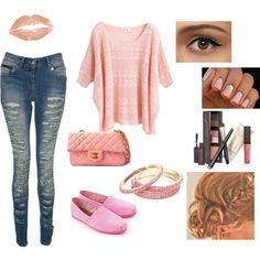 Spring Polyvore Combinations in Baby Pink: Adorable Baby