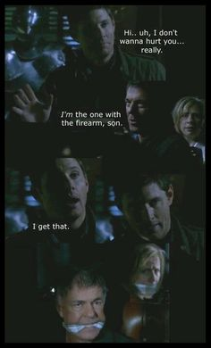 Please realize that dean is a bad ass..unless of course you're a cat.