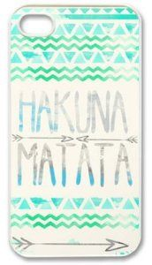 Amazon.com: Hakuna Matata Iphone 5 Case Cover New Design,best Iphone Case fell happy: Cell Phones & Accessories
