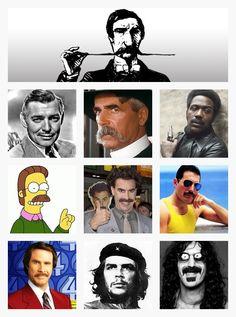 Favorite Famous Mustaches