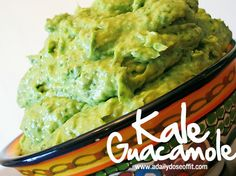 A Daily Dose of Fit: Kale Guacamole