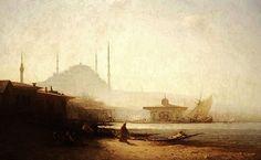 Sunrise in Istanbul by Felix Ziem