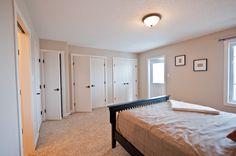on the Park Coalhurst Custom Builders, Closet Space, Custom Homes, Master Bedroom, Living Spaces, Park, Furniture, Home Decor, Master Suite