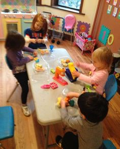 Having fun with friends!! #micasita #homedaycare #chicago #toddler #kids #creative #daycare #family #art #inspiration