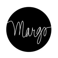 Margo || || Hand-drawn name art by Meg at pinterest.com/meggiemaye.