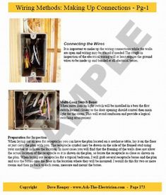 Guide to Home Electrical Wiring: Fully Illustrated Electrical Wiring Book Home Electrical Wiring, Electrical Symbols, Electrical Code, Electrical Switches, Electrical Projects, Electrical Engineering, House Wiring, Tree House Designs, Home Repairs