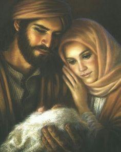 The Holy Family https://www.pinterest.co.uk/pin/232357662002169854/?lp=true