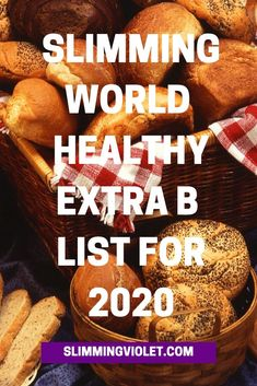Looking for a Slimming World Healthy Extra B list? This resource tells you exactly what you need to know, and how to make the most of your healthy extra! Slimming World Breakfasts Free, Slimming World Healthy Extras, Slimming World Shopping List, Slimming World Survival, Slimming World Recipes Syn Free, Slimming World Plan, Slimming World Salads, Slimming Eats, Healthy Extra A