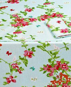 Vera Table Linens, Set of 4 Spring Blossom Napkins  Macys