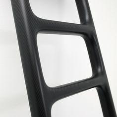 Poured Corian ladder 3 details Marc Newson Ltd