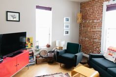 Maura's Double Duty  Baker District Flat: The Home & Studio of Red Camper