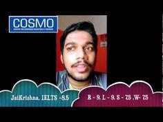 IELTS Trivandrum - COSMO's Jaikrishna Scores 8.5 in IELTS Exam @ Kerala (India) - YouTube