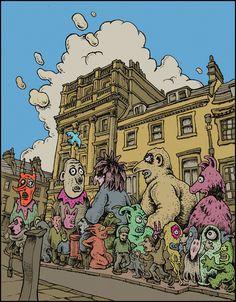 EASTER PARADE Milsom St Bath BA1 1DG, UK 51.384724, -2.361842