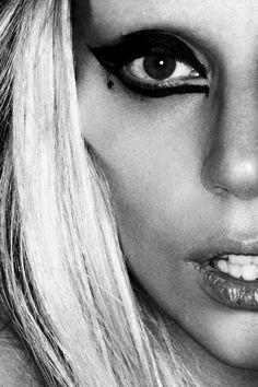 Lady Gaga closeup