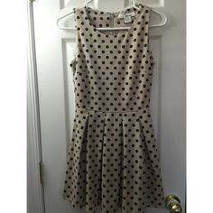 Polka Dot Dress A mini polka dotted dress that is perfect for this season! Worn only once and is perfect condition. Dresses Mini