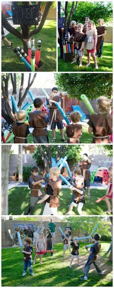 Jedi Training Party Activity