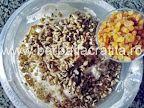 Prajitura cu foi de napolitana Rumba preparare reteta Oatmeal, Breakfast, The Oatmeal, Morning Coffee, Rolled Oats, Overnight Oatmeal