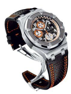 Audemars Piguet Royal Oak Grey Dial Chronograph Mens Watch 26175ST.OO.D003CU.01