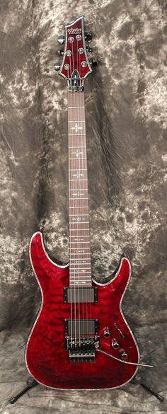 Schecter Guitar Research Hellraiser C-1 FR Electric Guitar Black Cherry