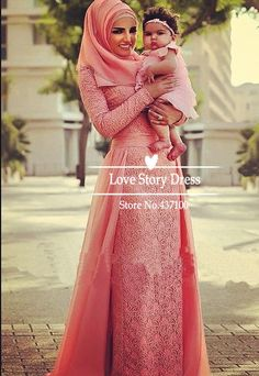 Abaya Dubai Kaftan Muslim Arabic Evening Dresses with Hijab Long Sleeves Lace Chiffon Maxi Plus Size Formal Evening Gowns 2015-in Evening Dresses from Weddings & Events on Aliexpress.com   Alibaba Group