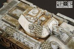 Fox One Hobbies: T-34 Model 1941 Step-by-step