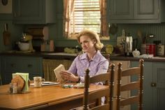 """January Jones is seen as Betty Draper Francis, who learned she had cancer on Sunday's episode of """"Mad Men."""""""